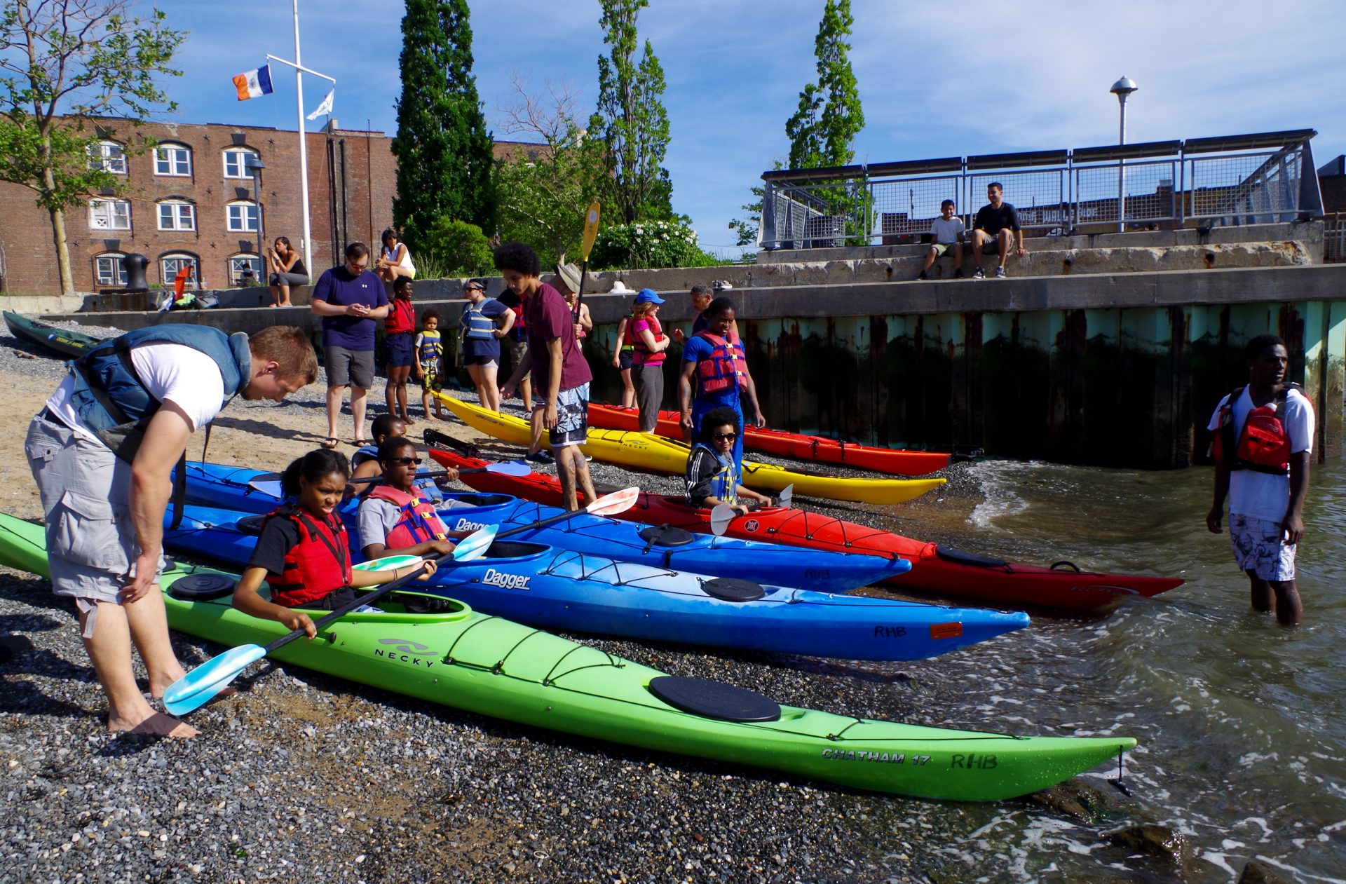 Kayaking OutdoorFest 2015