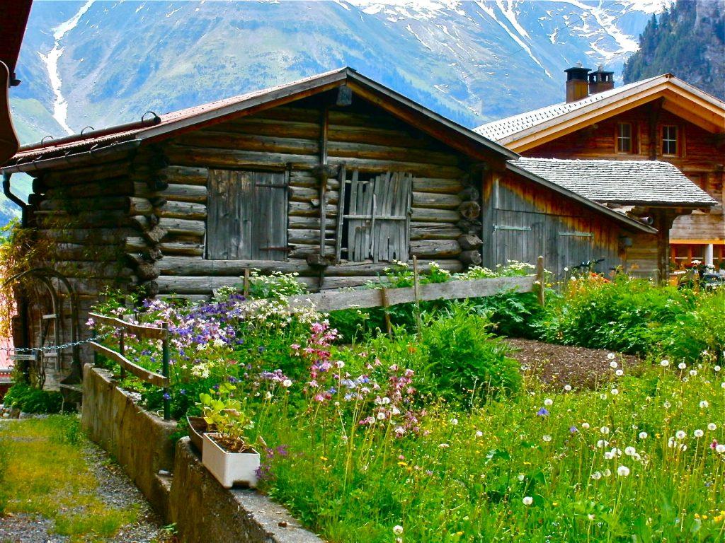Sarah Knapp Gimmelwald Switzerland