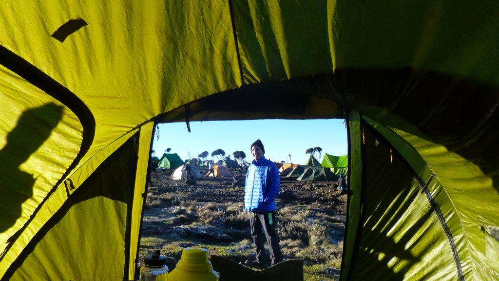 Kilimanjaro Camping Sarah Knapp