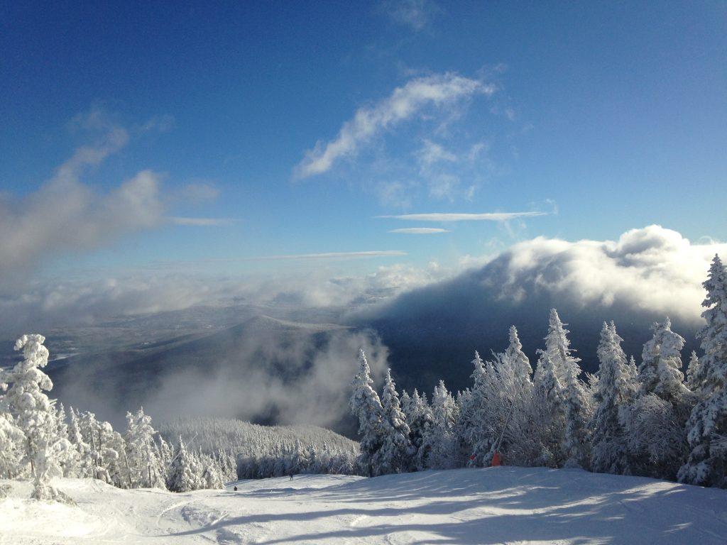 Vermont Skiing Sarah Knapp Stowe